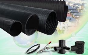 如何确定钢带增强螺旋波纹管管道管径及坡度