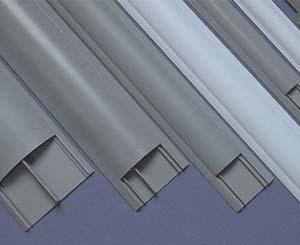 PVC圆弧形地板线槽