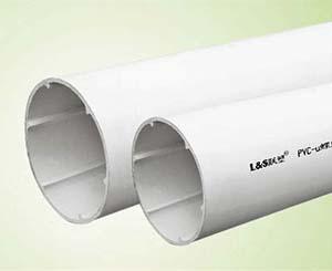 PVC-U螺旋消音管