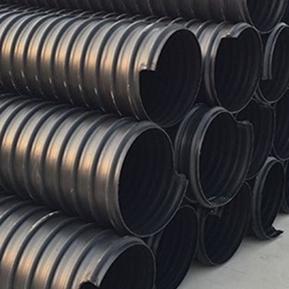 郑州HDPE钢带波纹管